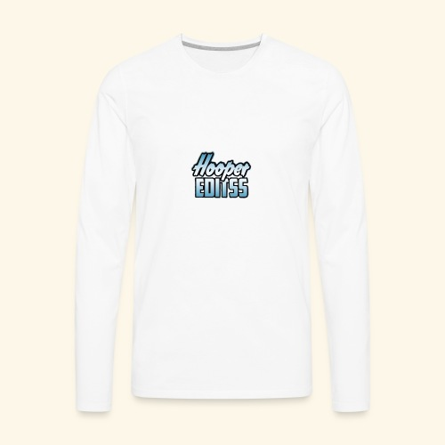 hooper.editss - Men's Premium Long Sleeve T-Shirt