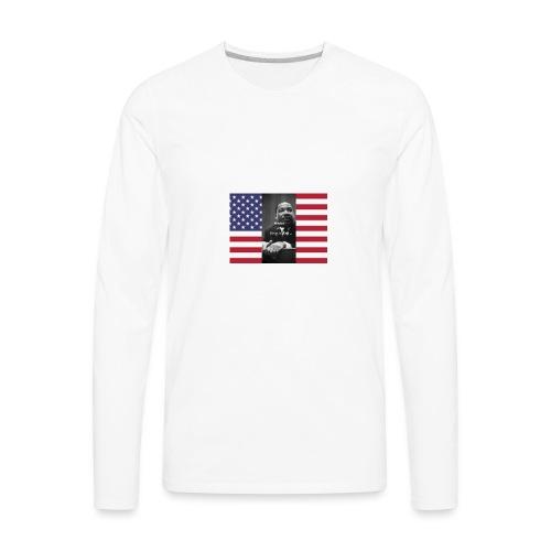 Martin Luther King Jr Day's Graphic Novel - Men's Premium Long Sleeve T-Shirt