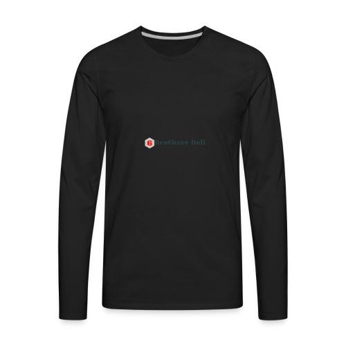 6 Brothers Deli - Men's Premium Long Sleeve T-Shirt