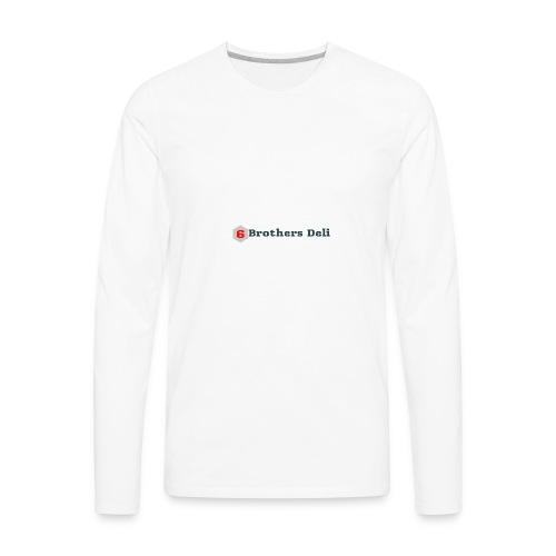 6 Brothers Deli - Men's Premium Long Sleeve T-Shirt