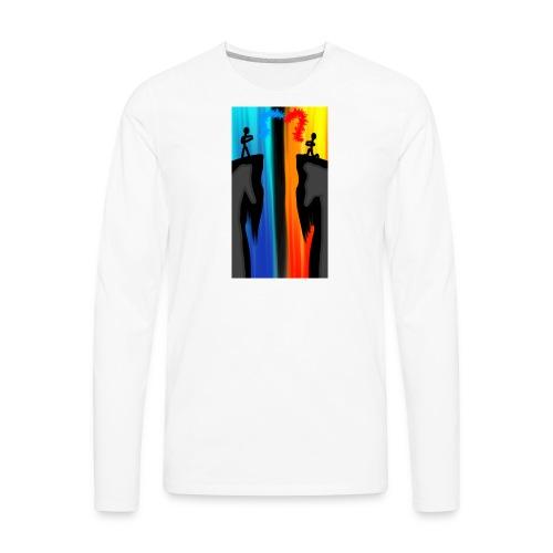 Opposite - Men's Premium Long Sleeve T-Shirt