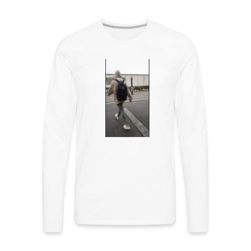 hoodie walker - Men's Premium Long Sleeve T-Shirt