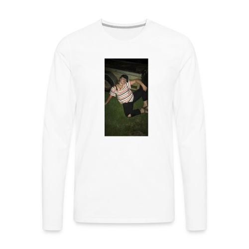 Basic Lilly - Men's Premium Long Sleeve T-Shirt
