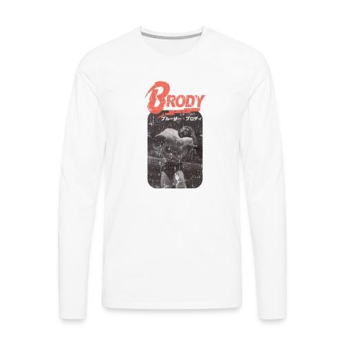 Bruiser Brody Slam - Men's Premium Long Sleeve T-Shirt