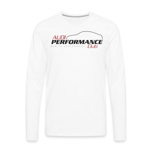 Audi Cars - Men's Premium Long Sleeve T-Shirt