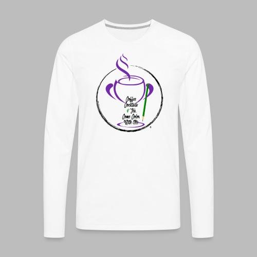 CCTCCWM Black Text - Men's Premium Long Sleeve T-Shirt