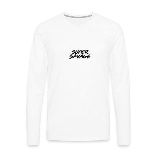 Super savage - Men's Premium Long Sleeve T-Shirt