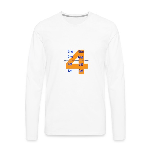 Forgive & Forget - Men's Premium Long Sleeve T-Shirt