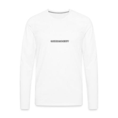CANADAGAMERTV MERCH - Men's Premium Long Sleeve T-Shirt