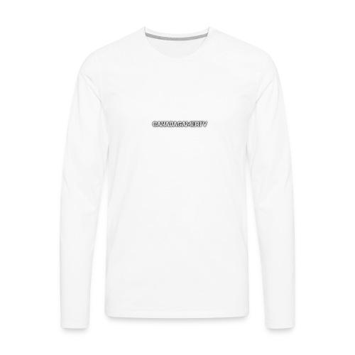 CANADAGAMERTV MERCH - Men's Premium Long Sleeve T-Shirt