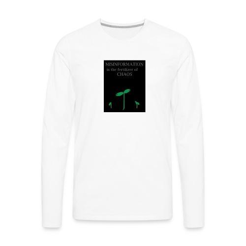 Misinformation - Men's Premium Long Sleeve T-Shirt