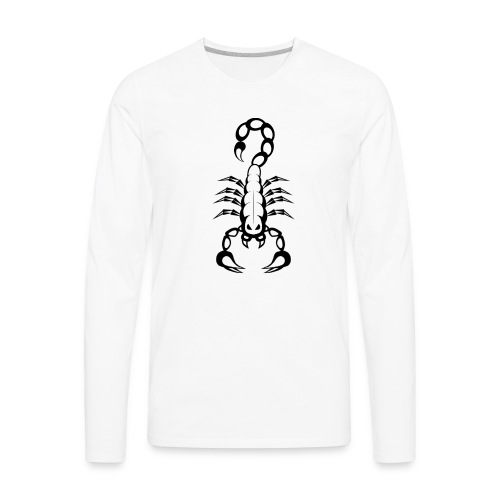 Scorpion - Men's Premium Long Sleeve T-Shirt