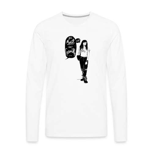 Valentine M. Smith x Carmilla - Men's Premium Long Sleeve T-Shirt