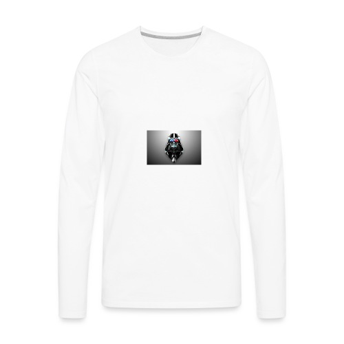 may the force be with you - Men's Premium Long Sleeve T-Shirt