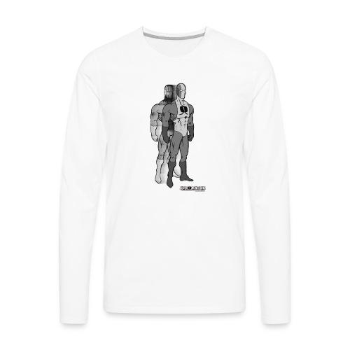 Superhero 9 - Men's Premium Long Sleeve T-Shirt