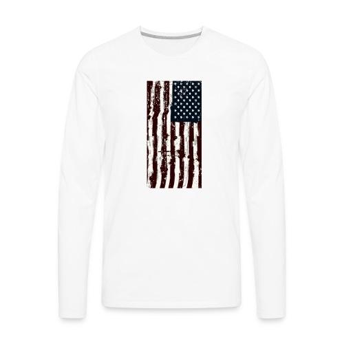 Hanging Flag - Men's Premium Long Sleeve T-Shirt