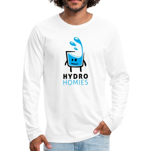 HydroHomies | Hydro Homies | Cup of Water Design - Men's Premium Long Sleeve T-Shirt