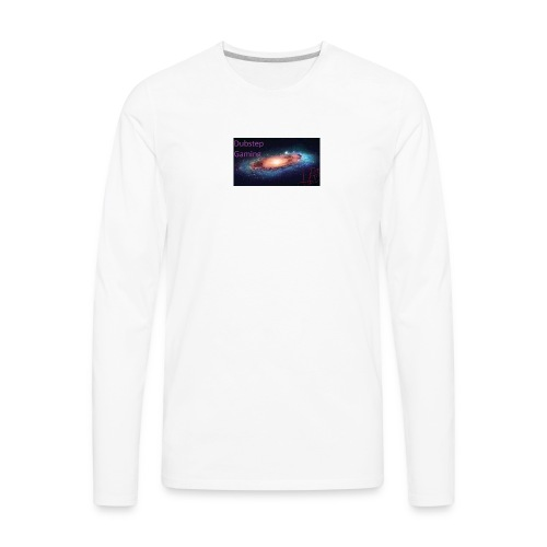 Dubstep Gaming Galaxy Design - Men's Premium Long Sleeve T-Shirt