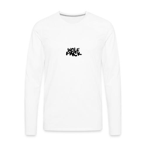 Krazy Hounds Wolfpack Paw Logo - Men's Premium Long Sleeve T-Shirt