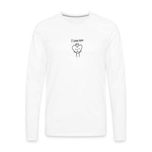 i-love-you shirts an objects - Men's Premium Long Sleeve T-Shirt