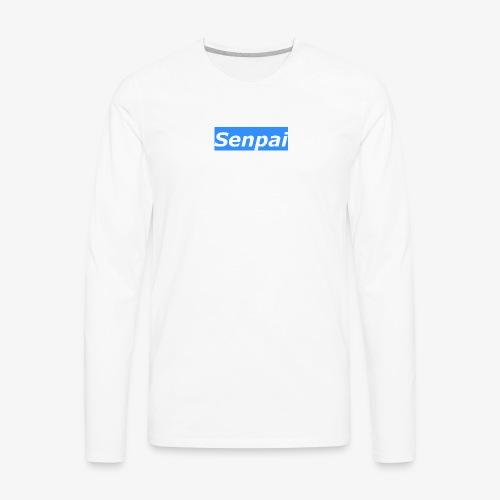Senpai Original Design - Men's Premium Long Sleeve T-Shirt