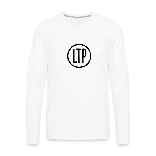 LTP White T-Shirt - Men's Premium Long Sleeve T-Shirt