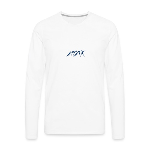 The attackers logo - Men's Premium Long Sleeve T-Shirt