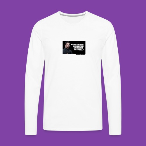255777-Cristiano-ronaldo------quote-w - Men's Premium Long Sleeve T-Shirt