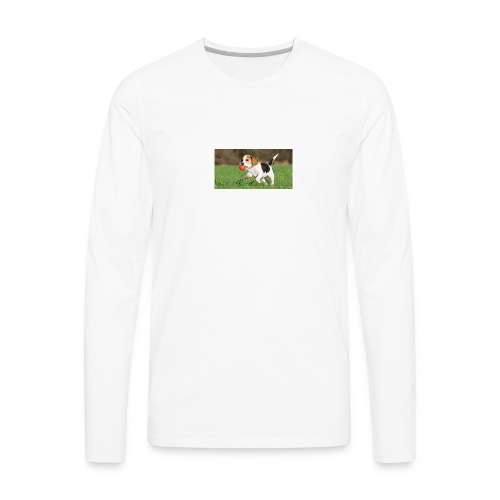 23695 pets vertical store dogs small tile 8 CB312 - Men's Premium Long Sleeve T-Shirt