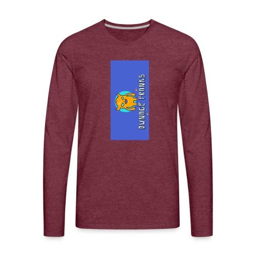 logo iphone5 - Men's Premium Long Sleeve T-Shirt