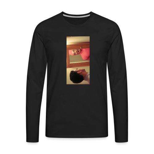 pinkiphone5 - Men's Premium Long Sleeve T-Shirt