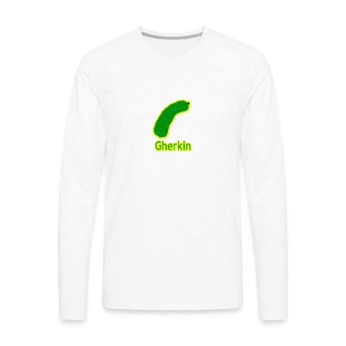 Gherkin - Men's Premium Long Sleeve T-Shirt