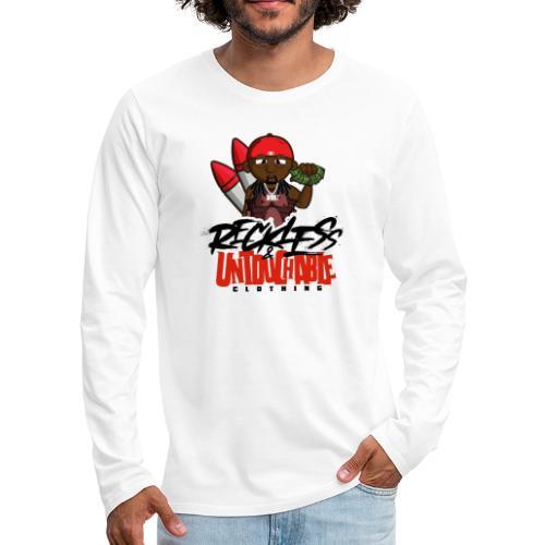 Reckless and Untouchable_1 - Men's Premium Long Sleeve T-Shirt
