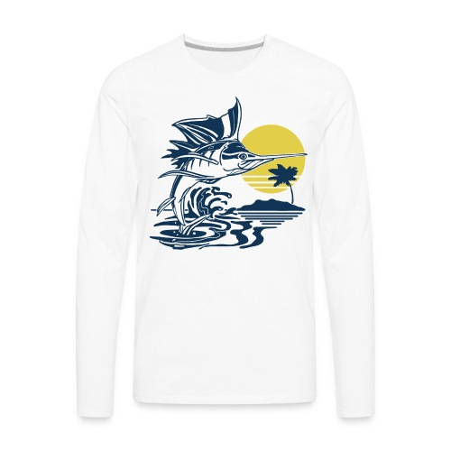 Sailfish - Men's Premium Long Sleeve T-Shirt