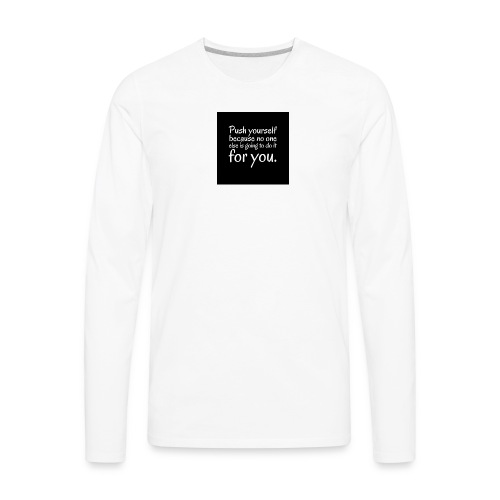 Motivation - Men's Premium Long Sleeve T-Shirt