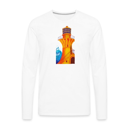 Golden Light - Men's Premium Long Sleeve T-Shirt