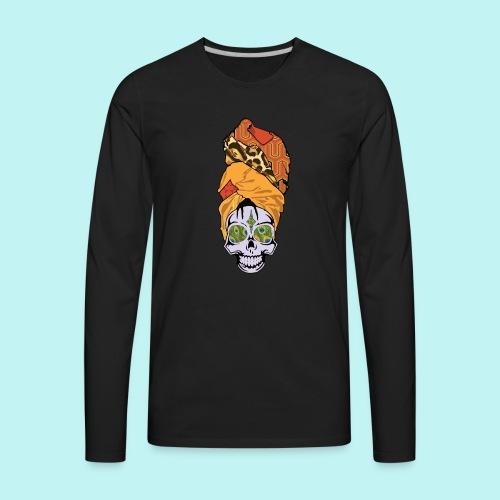 ERYKAH BADU SKULLY - Men's Premium Long Sleeve T-Shirt