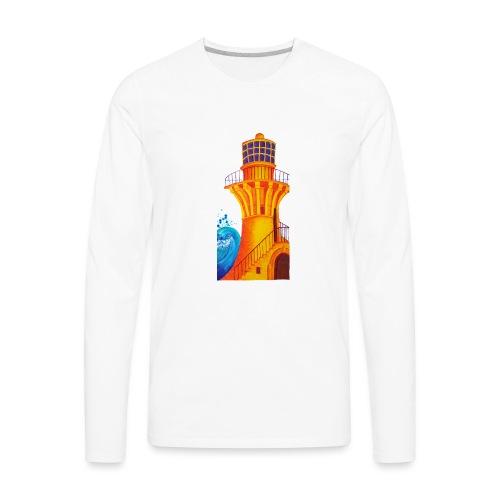 Golden Light - Men's Premium Long Sleeve T-Shirt