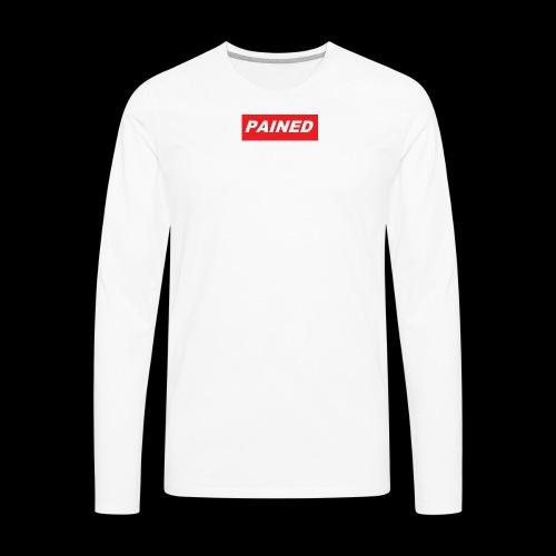 PAINED - Men's Premium Long Sleeve T-Shirt