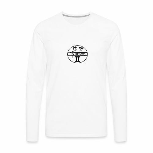 Official TVBENJO Merch - Men's Premium Long Sleeve T-Shirt