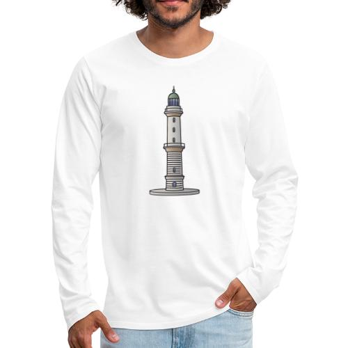 Lighthouse Warnemünde Rostock - Men's Premium Long Sleeve T-Shirt
