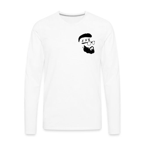 Hipster exy - Men's Premium Long Sleeve T-Shirt