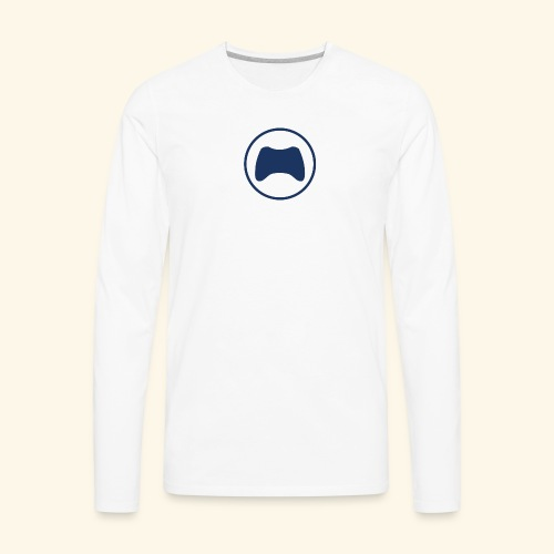Gaming Controller - Men's Premium Long Sleeve T-Shirt