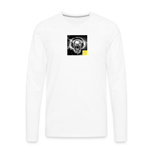 skull - Men's Premium Long Sleeve T-Shirt