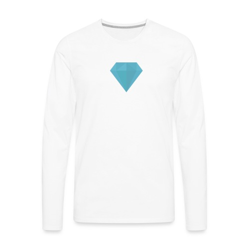 long sleeve Diamond shirt - Men's Premium Long Sleeve T-Shirt