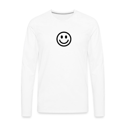 smile dude t-shirt kids 4-6 - Men's Premium Long Sleeve T-Shirt