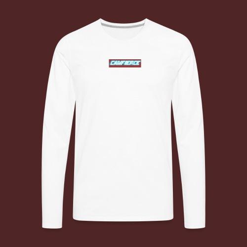 Camfierce logo - Men's Premium Long Sleeve T-Shirt
