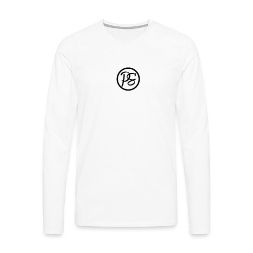 Pursue Brand Baseball Tee - Men's Premium Long Sleeve T-Shirt