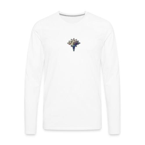 Mr.Swiss logo - Men's Premium Long Sleeve T-Shirt