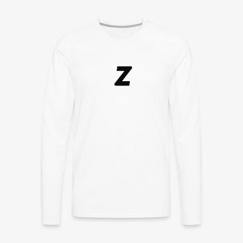 Z LOGO - Men's Premium Long Sleeve T-Shirt